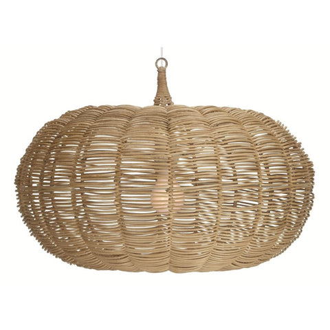 Casablanca Short Pendant Lighting in Natural