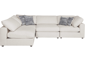 Casablanca White Sofa - Large