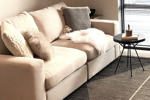 Casablanca White Sofa