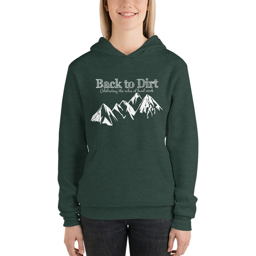 Back to Dirt Mountain Climb Unisex Hoodie