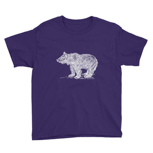 Youth Grizzly Bear Cub Short Sleeve T-Shirt