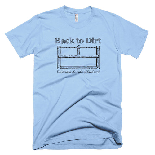 Back to Dirt Vintage Saw T-Shirt