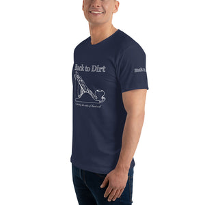 Back to Dirt Mens Wood Plane T-Shirt