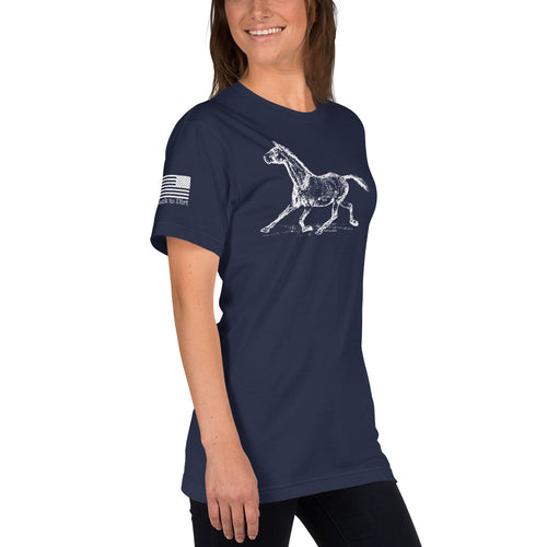 Beautiful Women's Horse T-Shirt