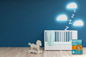 Healthier Sleep Environment in Nursery Room thanks to Pure Zees baby mattress