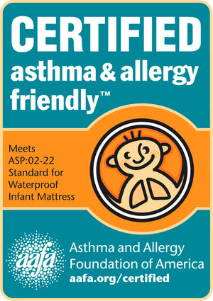 Pure Zees US Baby Crib Mattress 51⅝ x 27¼ inches Asthma & Allergy Foundation of America Certified