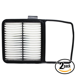 2-Pack Engine Air Filter Replacement for 2006 Toyota Prius L4 1.5 Car/Automotive