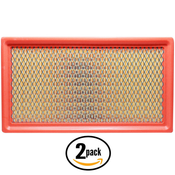 2-Pack Engine Air Filter Replacement for 2012 Ford Edge L4 2.0 Car/Automotive