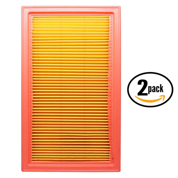 2-Pack Engine Air Filter Replacement for 2003 Infiniti FX35 V6 3.5 Car/Automotive