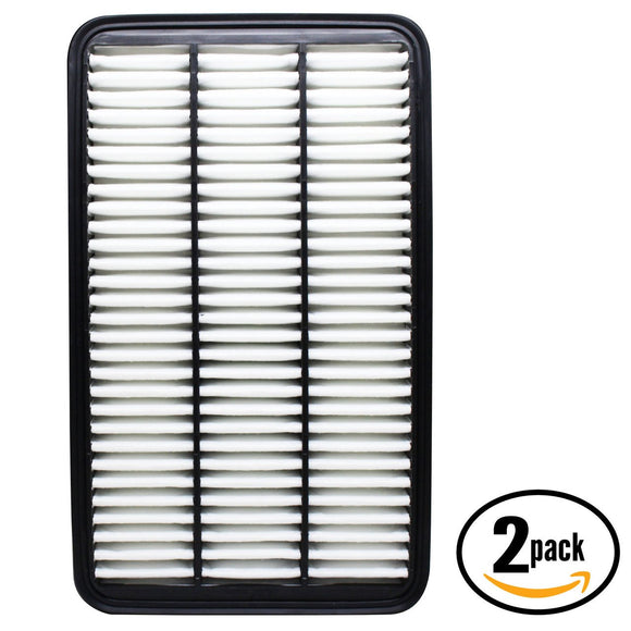 2-Pack Engine Air Filter Replacement for 1992 Lexus ES300 V6 3.0 Car/Automotive
