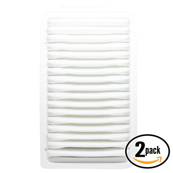 2-Pack Engine Air Filter Replacement for 2004 Toyota Highlander L4 2.4 Car/Automotive