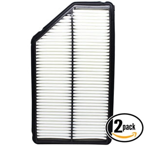 2-Pack Engine Air Filter Replacement for 2007 Honda Pilot V6 3.5 Car/Automotive