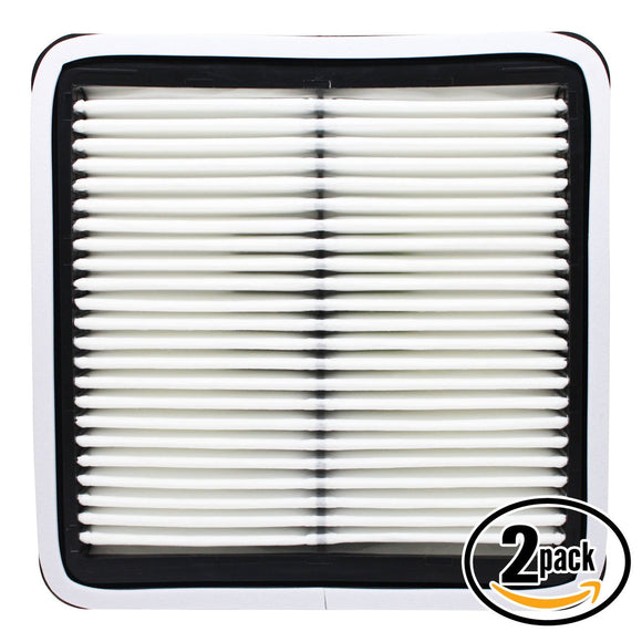 2-Pack Engine Air Filter Replacement for 2007 Subaru Legacy H4 2.5 Car/Automotive