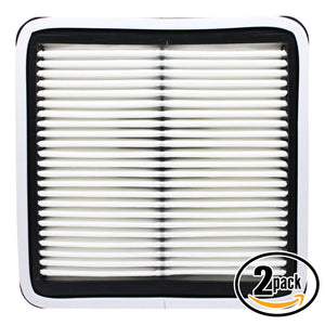 2-Pack Engine Air Filter Replacement for 2005 Subaru Legacy H4 2.5 Car/Automotive