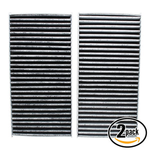 2-Pack Cabin Air Filter Replacement for 2006 Acura CSX L4 2.0 Car/Automotive