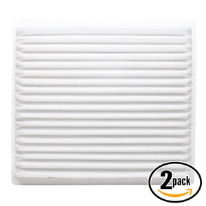 2-Pack Cabin Air Filter Replacement for 2005 Scion tC L4 2.4 Car/Automotive