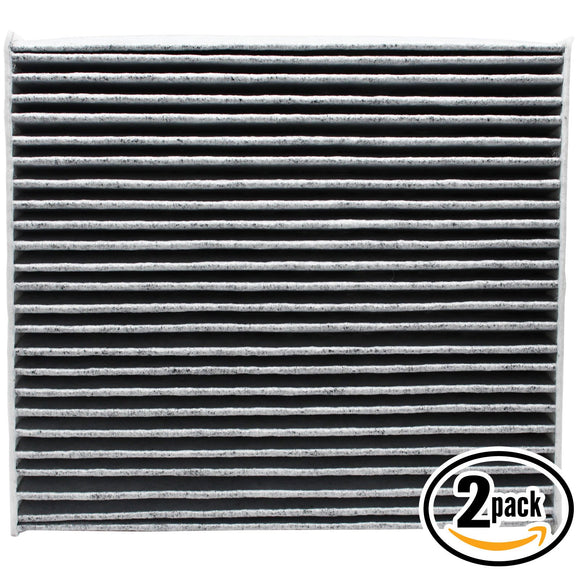 2-Pack Cabin Air Filter Replacement for 2011 Lexus CT 200H L4 1.8L 1798cc Car/Automotive