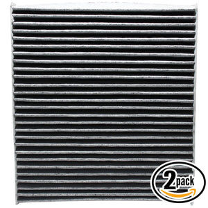 2-Pack Cabin Air Filter Replacement for 2011 Chrysler 200 L4 2.4L 144 CID Car/Automotive