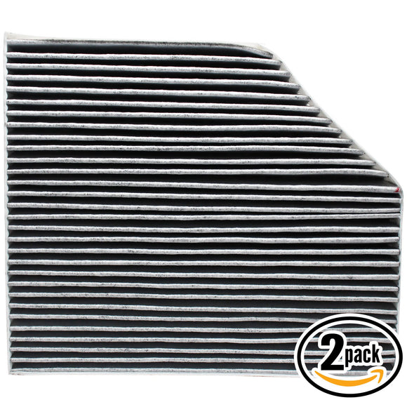 2-Pack Cabin Air Filter Replacement for 2011 AUDI A4 L4 1.8L 1781cc Car/Automotive