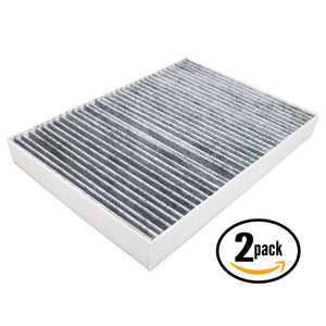 2-Pack Cabin Air Filter Replacement for 2011 Chrysler 300 V6 3.6 Car/Automotive