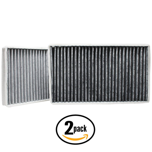 2-Pack Cabin Air Filter Replacement for 2002 Cadillac Escalade V8 5.3 Car/Automotive
