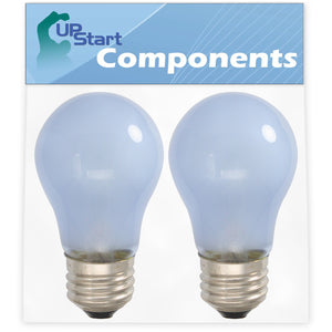 2-Pack 241555401 Refrigerator Light Bulb Replacement for Frigidaire GLHS69EHW2 Refrigerator