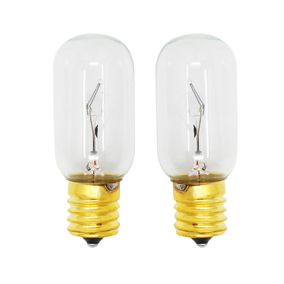 2-Pack Compatible LG Electronics 6912W1Z004B Microwave Oven Light Bulb