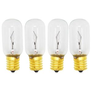 4-Pack Compatible LG Electronics 6912W1Z004B Microwave Oven Light Bulb