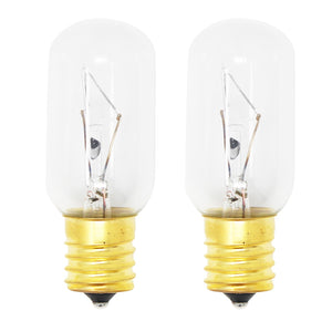 2-Pack Replacement Light Bulb for General Electric JVM1340BW02 Microwave