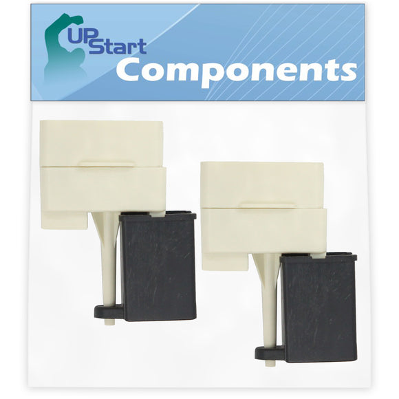 2-Pack W10613606 Refrigerator Compressor Start Relay & Capacitor  Replacement for Maytag, Amana & Jenn Air Refrigerators