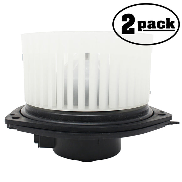 2-Pack Compatible Buick/Pontiac 89018521 Blower Assembly