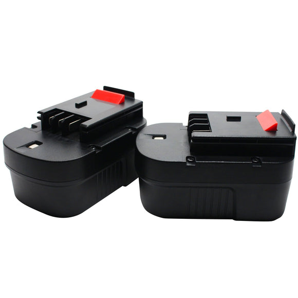 2-Pack - Black & Decker 499936-34 Battery Replacement