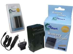 Canon BP-508 Battery and Charger with Car Plug and EU Adapter