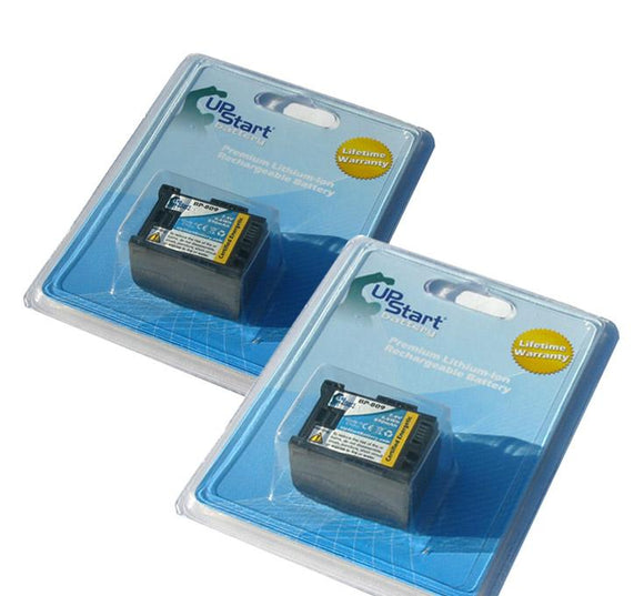 2x Pack - Canon Vixia HF M31 Battery (BP-809 Decoded, 890mAh)