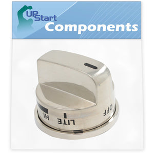 Gas Range Knob Replacement for LG EBZ37189611 Compatible with LG LRG30355ST Gas Range (Non Super Boil)