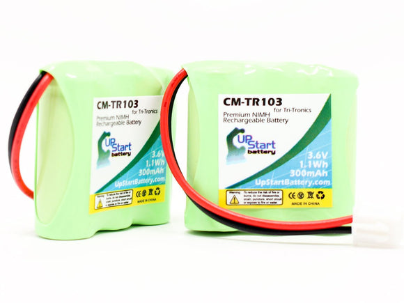 2x Pack - Tri-Tronics CM-TR103 Battery