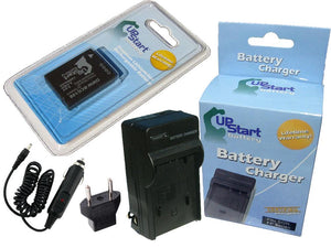 Panasonic DMW-BCG10 Battery and Charger with Car Plug and EU Adapter