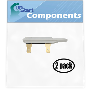 2 Pack Replacement 3392519 Dryer Thermal Fuse for Admiral, Amana, Crosley, Estate, Inglis, Kenmore, Kitchenaid, Maytag, Roper, Whirlpool Dryers