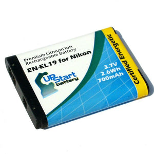 2x Pack - Nikon Coolpix S3500 Battery