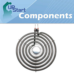 "Whirlpool 9761345 8"" 5 Turns Range/Stove Heating Element Replacement"
