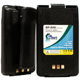 2-Pack Replacement Icom BP-200 Battery