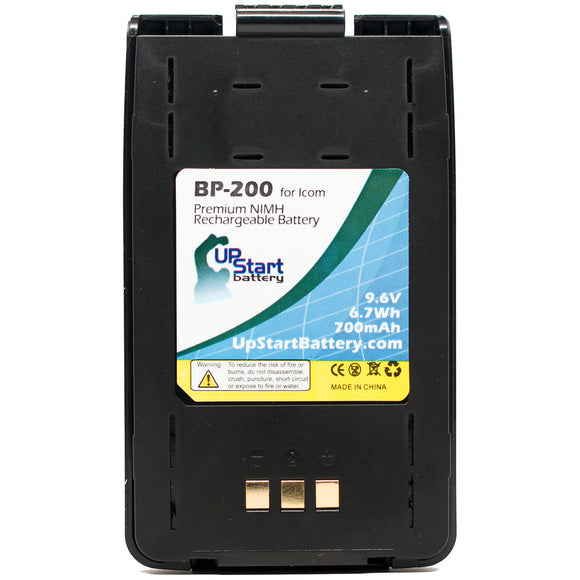 Replacement Icom BP-200 Battery