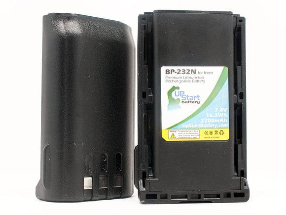 2x Pack - Icom BP-230 Battery
