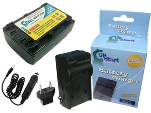 Sony NP-FV100 Battery and Charger with Car Plug and EU Adapter (1050mAh, 7.2V, Lithium-Ion)
