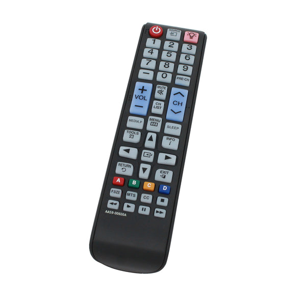 Replacement for Samsung AA59-00600A TV Remote Control - Works with Samsung UN32EH4003F, UN32J4000, UN32EH4003, UN39FH5000F, UN32EH4003FXZA, UN32EH5000F, UN46EH5000F, UN32J5003, AA59 00600A TVs