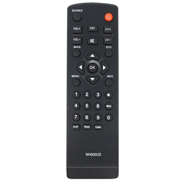 Replacement HDTV Remote for Emerson & Sylvania NH000UD TV Remote Control