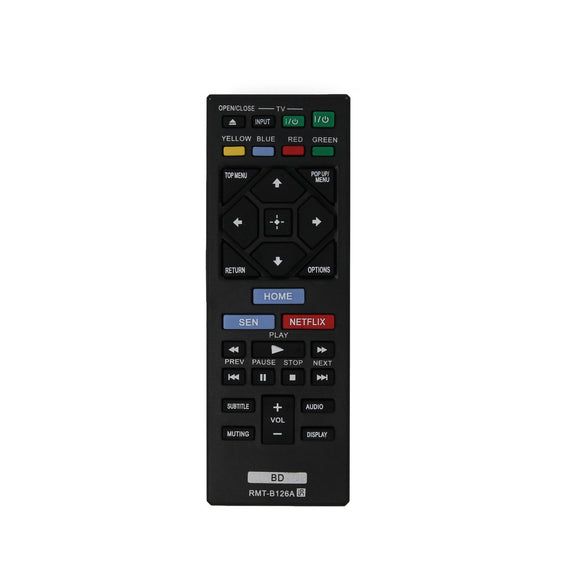 Sony RMT-B126A Blu-ray Disc Player Remote Control