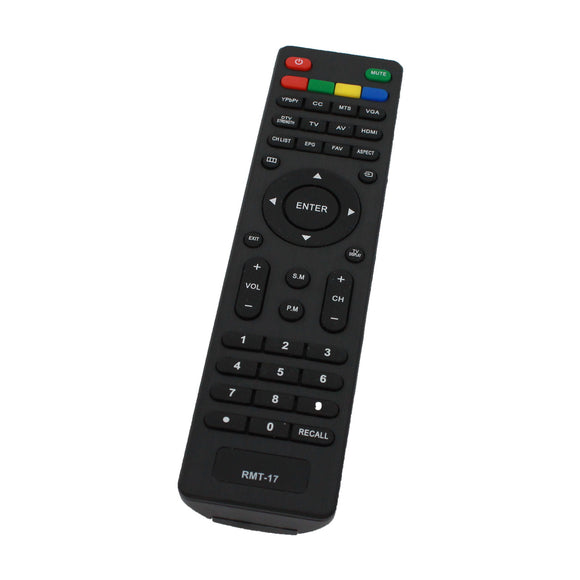 Replacement for Westinghouse RMT17 TV Remote Control - Works with Westinghouse LD 2480, RMT 17, DW32H1G1, VR 3215, LD 3240, VR 2218, EW32S5KW, EW32S3PW, EW37S5KW, EU24H1G1, EW24T7EW, EW39T5KW TVs
