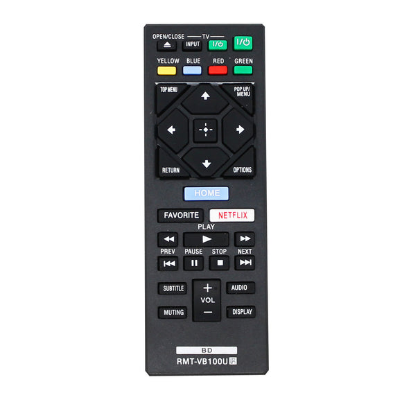 Replacement Remote for Sony VB100U Blu-ray Disc Player Remote Control