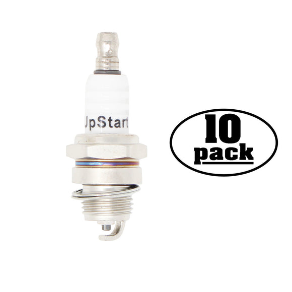 10-Pack Compatible Champion CJ8Y Spark Plug Replacement